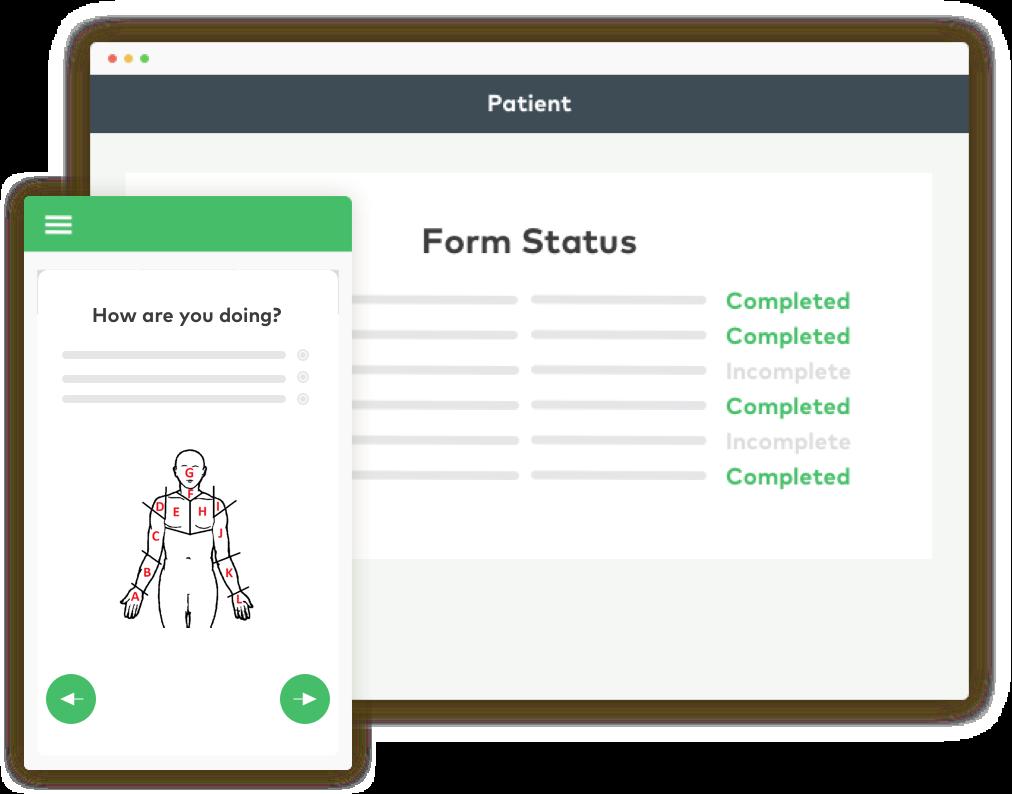 COVID-19 symptom assessments